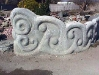 Organic sculpted wall