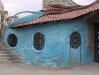 Blue shotcrete shop