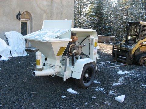 Stucco Pumps, Concrete Pump, Shotcrete, and Gunite | Stucco ...Olin 525 concrete pump