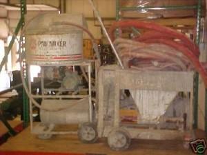 Rotor stator mixing pump.