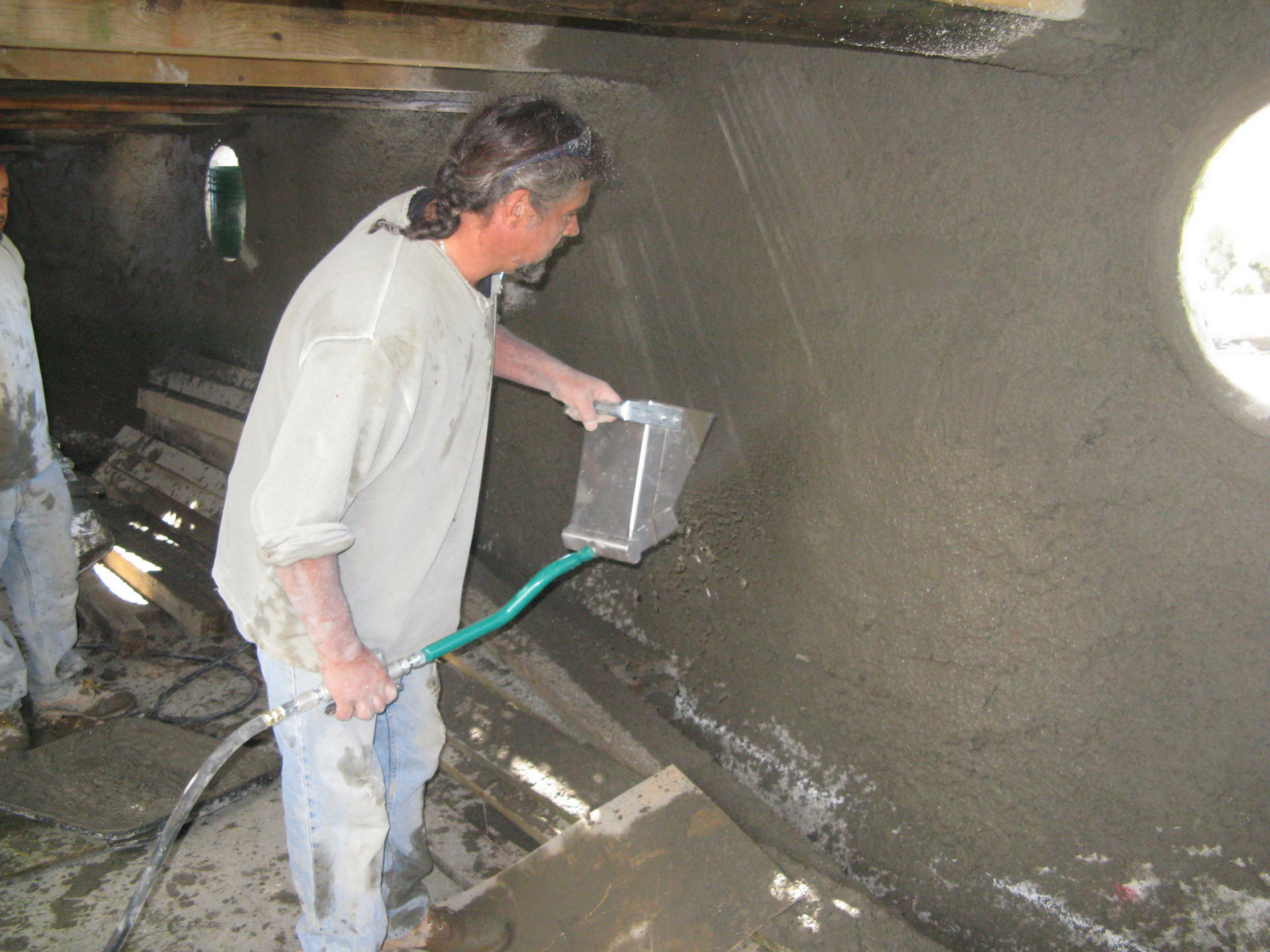 Spray On Plaster For Walls : Stucco sprayer for walls and ceilings made in the usa
