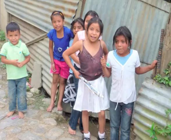 Guatemala, San Lorenzo children