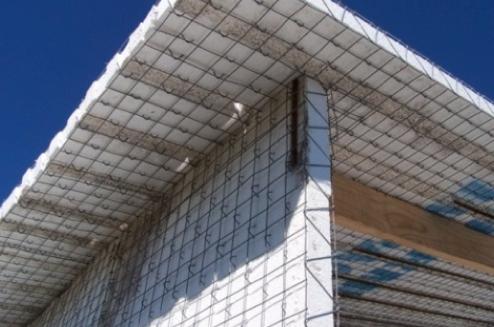 Stucco sprayer toolcrete stucco for Foam concrete house construction