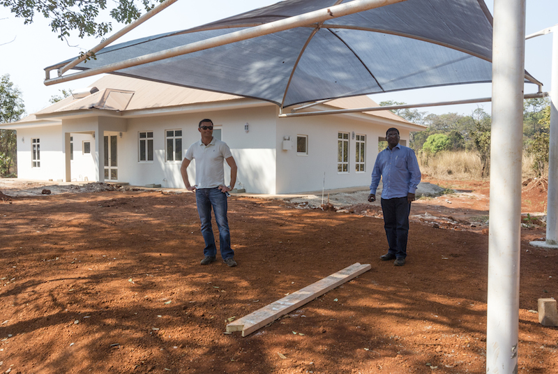 Insulated Scip Panel Homes Construction In Africa