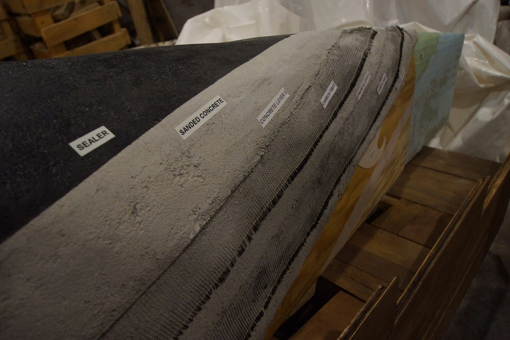 how to make a concrete boat float