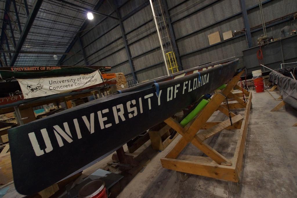 University of Florida Concrete Canoe photo 8