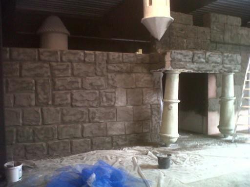 set design castle