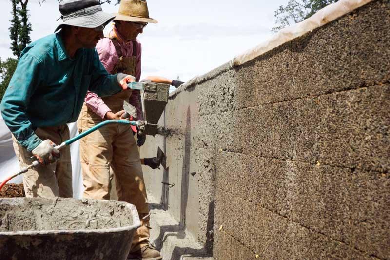 Stucco sprayer toolcrete stucco - How to stucco exterior cinder block walls ...