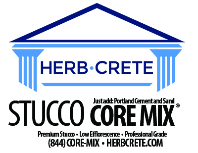 HerbCrete stucco core mix 400x